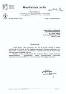 Referencjie UM Lublin 212x300